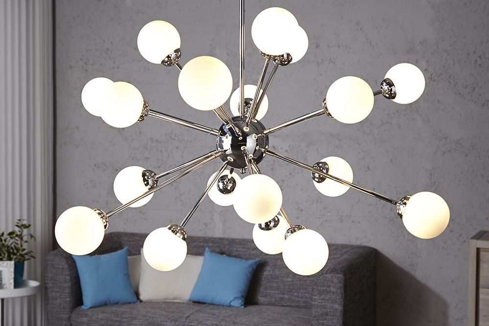 Lampa Sufitowa Wiszaca Kule Chrom Design Galassia 5694203206 Oficjalne Archiwum Allegro Ceiling Lights Ceiling Pendant Lights Pendant Lamp