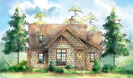 Plan 26689gg Wistful Itty Bitty Cottage Homes Designs