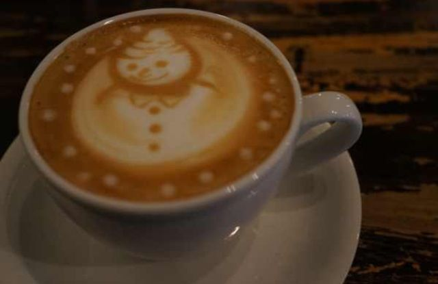 Happy Holidays  I've got a LATTE to be grateful for❗️ #coffee #art