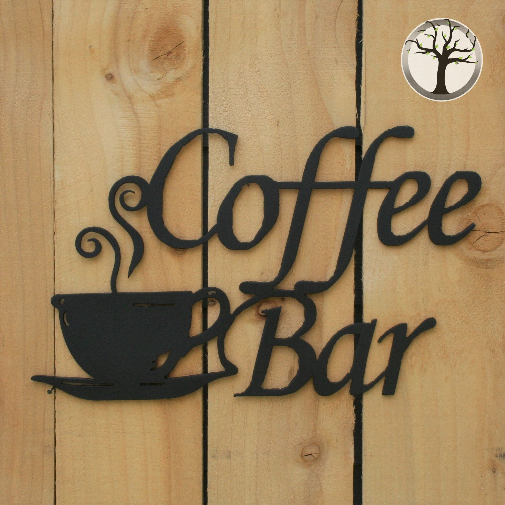 Coffee Bar Metal Art Coffee Bar Signs Coffee Bar Metal Wall Art