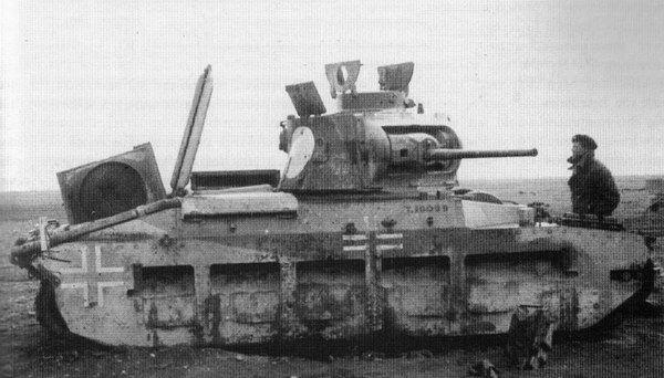 """Матильда II"".Mk II. Nord Africa. ."