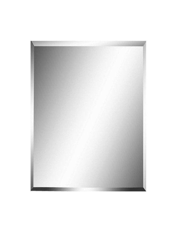 Frameless Beveled Mirror Size 24x36 30x36 30x40 36x48 Frameless