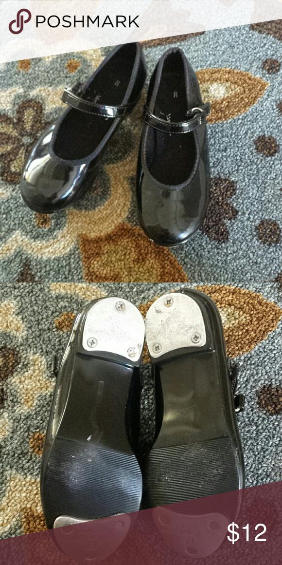 Little Girls ABT Tap Shoes Size Tap Shoes Theatre Costumes - Abt shoes