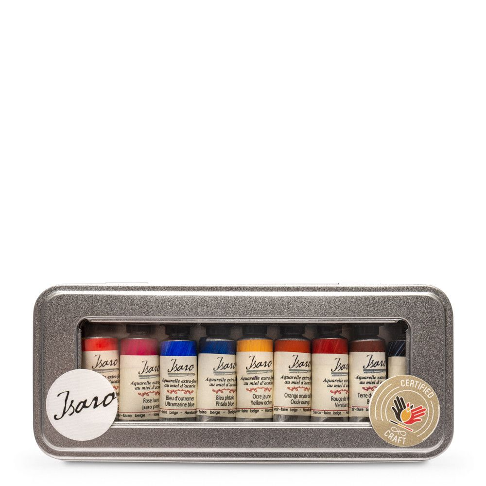 Isaro Watercolour Paint 7ml Set 10 Jackson S Selection