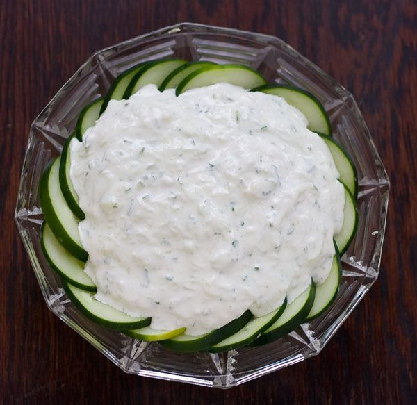cucumber dip with cream cheese