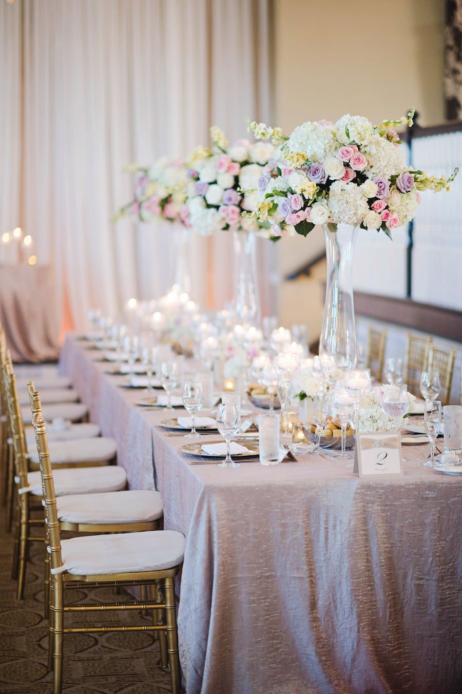 Traditional Champagne, Purple and Cream St. Pete Beach Wedding ...