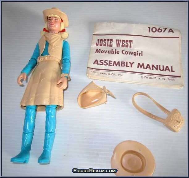 Josie West (Turquoise) from Best of the West (Marx) - Best of the West manufactured by Marx [Loose]