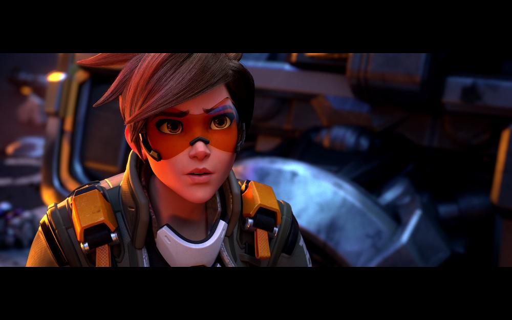 Artstation Overwatch 2 Announce Cinematic Zero Hour Renaud Galand Overwatch Tracer Overwatch Comic Overwatch