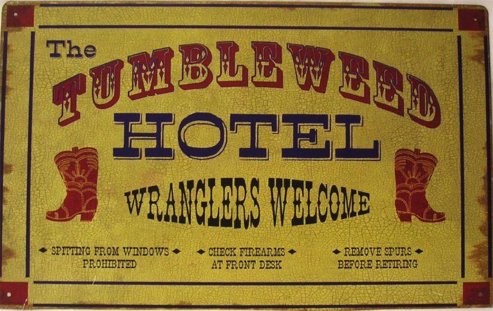 "Sunshine Farms - Old Barn"" Tin Sign – Wild West Living"