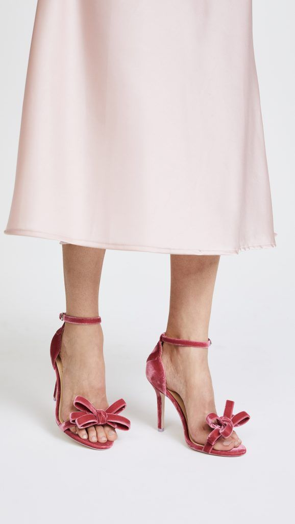 722454386caa Isa Tapia Strappy Bow Pumps