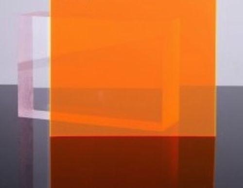 Orange Amber Fluorescent Acrylic Plexiglass Sheet 1 8 X 12 X 12 9096 Plexiglass Sheets Plexiglass Fluorescent