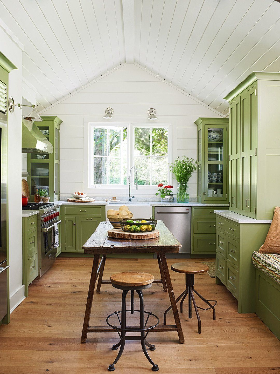 Kitchen And Living Room Designs Combine Elegant 25 Beautiful Country Kitchens To Copy Asap Dapur Pedesaan Model Dapur Dapur Rustic