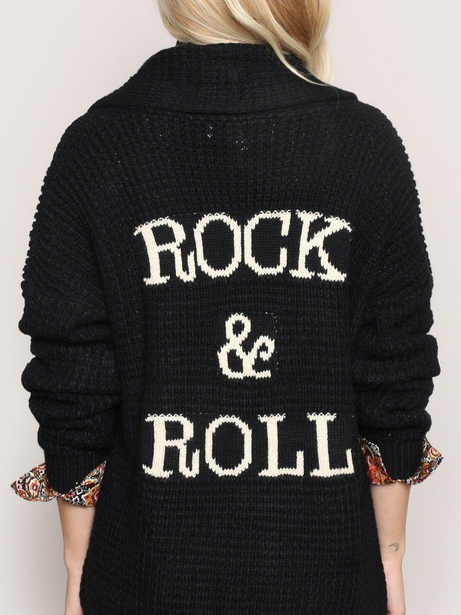 Rock & Roll Cardigan - Gypsy Warrior