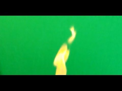 """Real Fire """" Free Chroma Key Effects """"  (  efecto de fuego real  ) Green ..."""