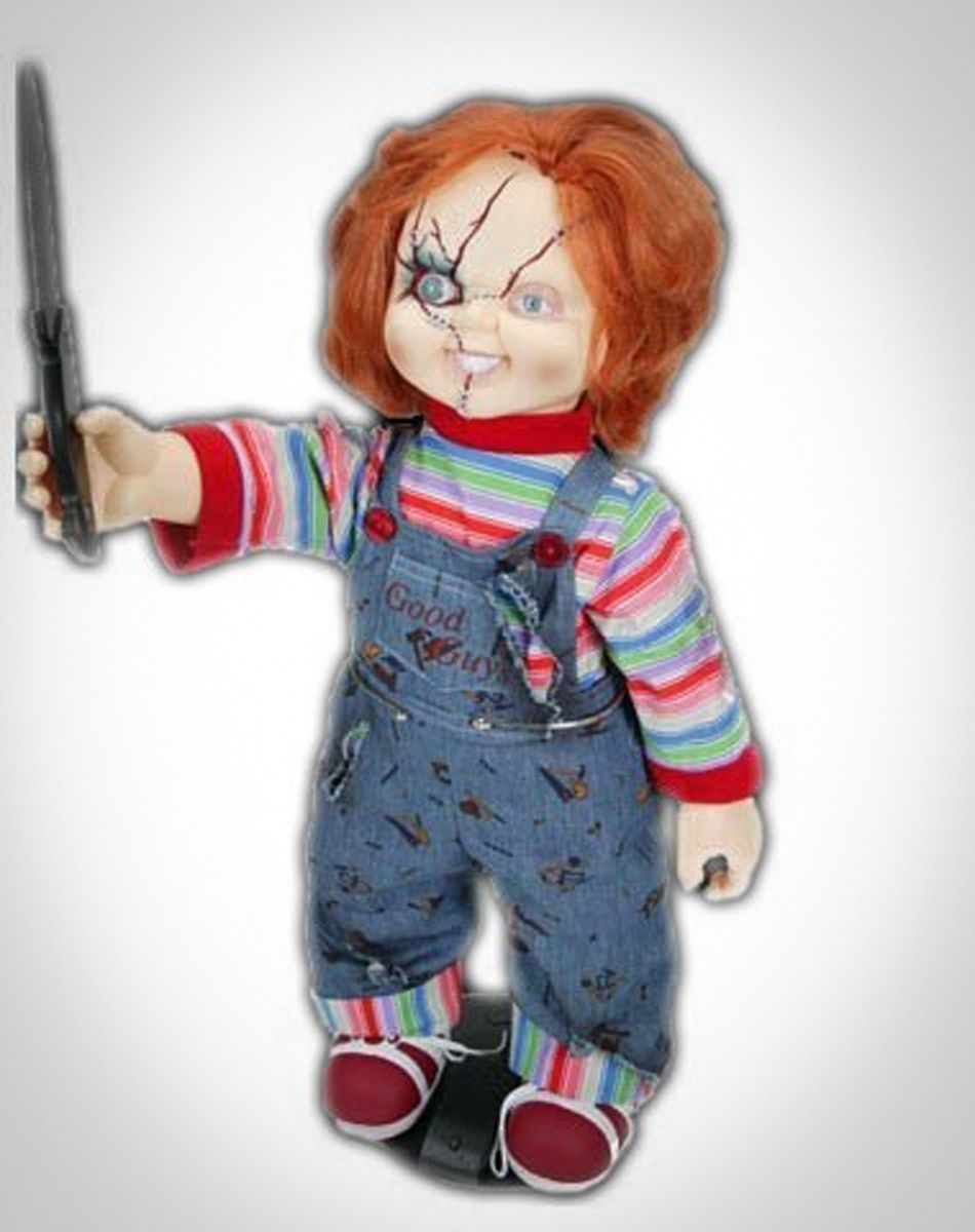 Party points to ME! I just found the Chucky Doll from Spencer's ...