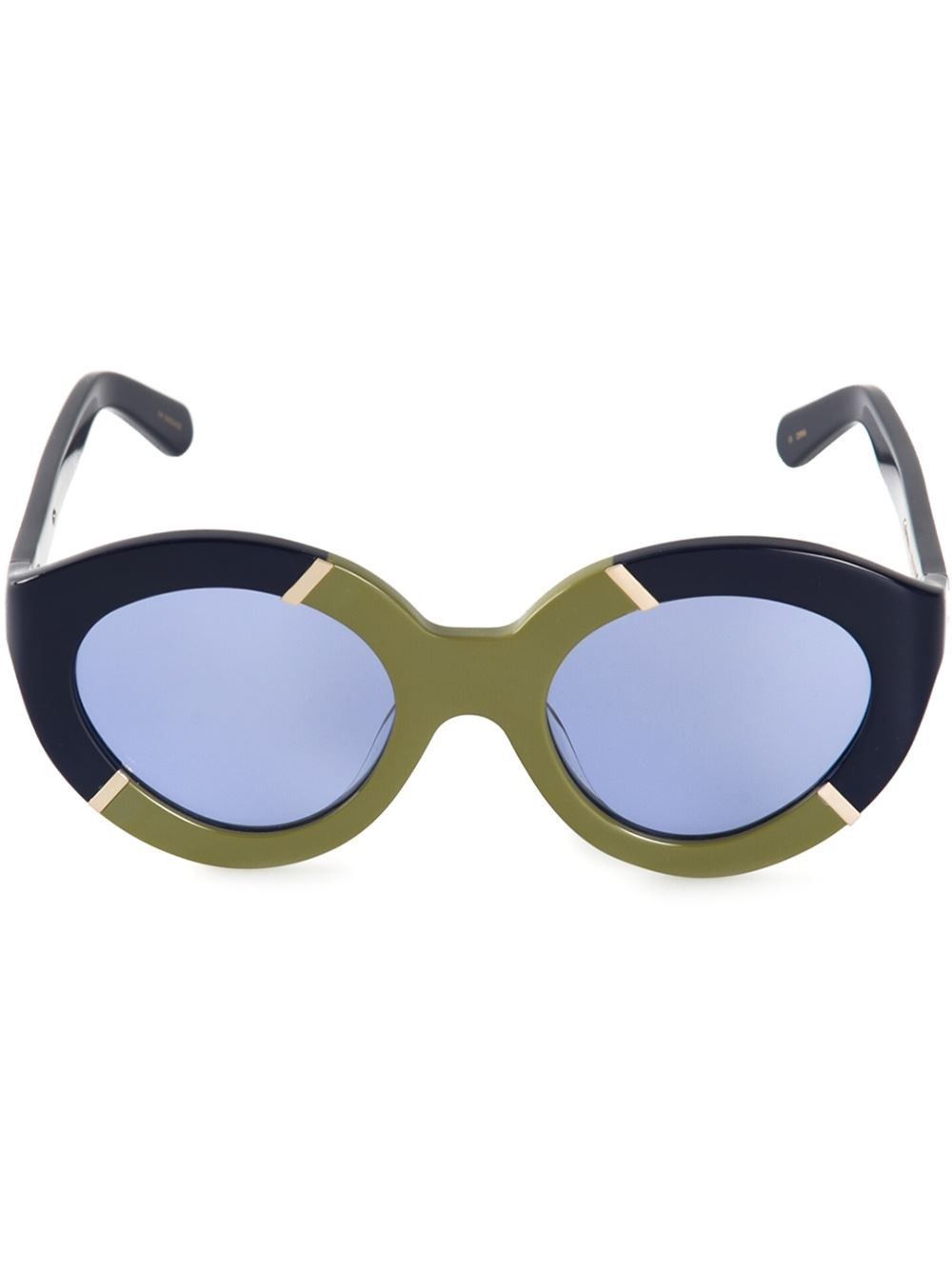 Karen Walker 'Flowerpatch' Sunglasses