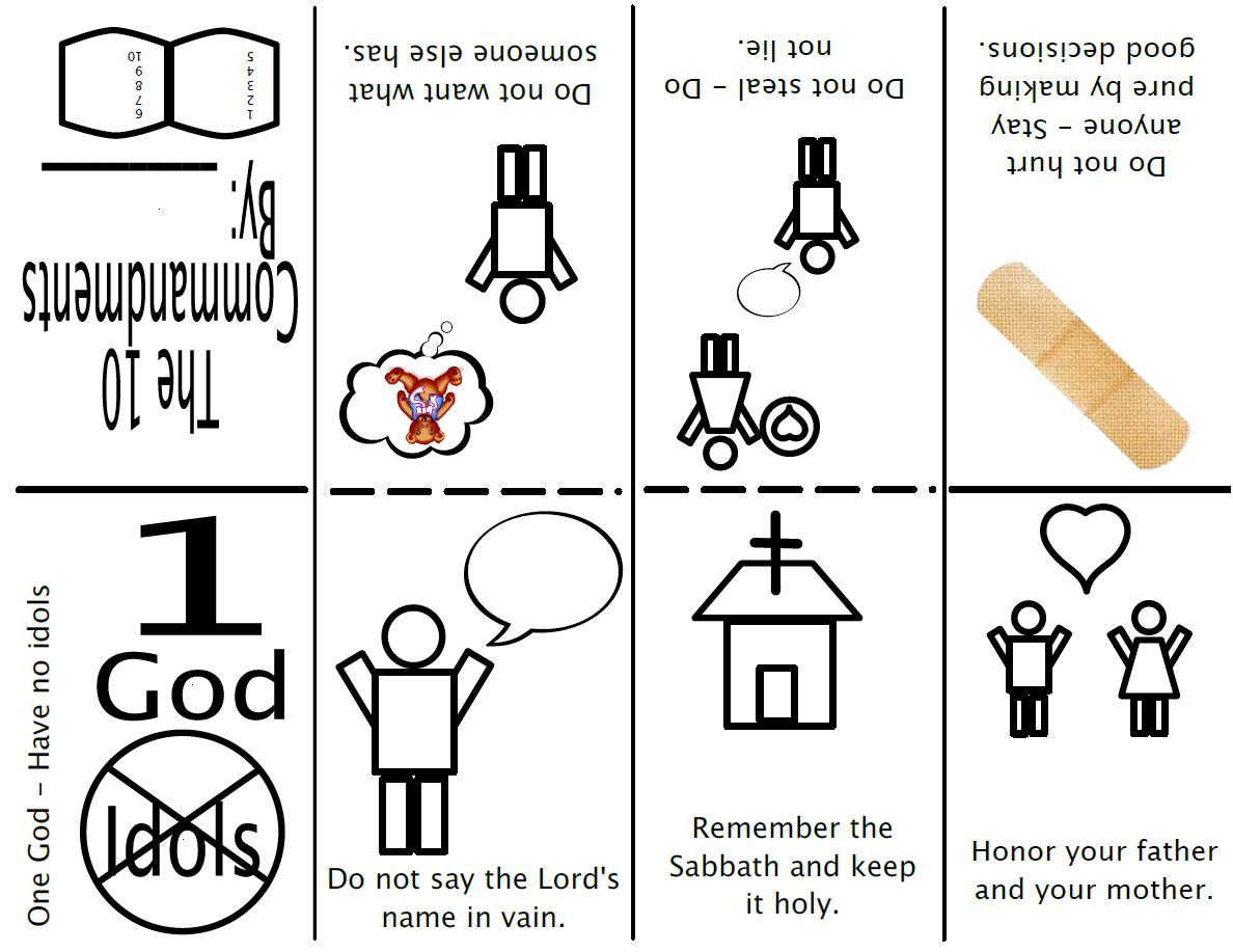 10 Commandments Minibook