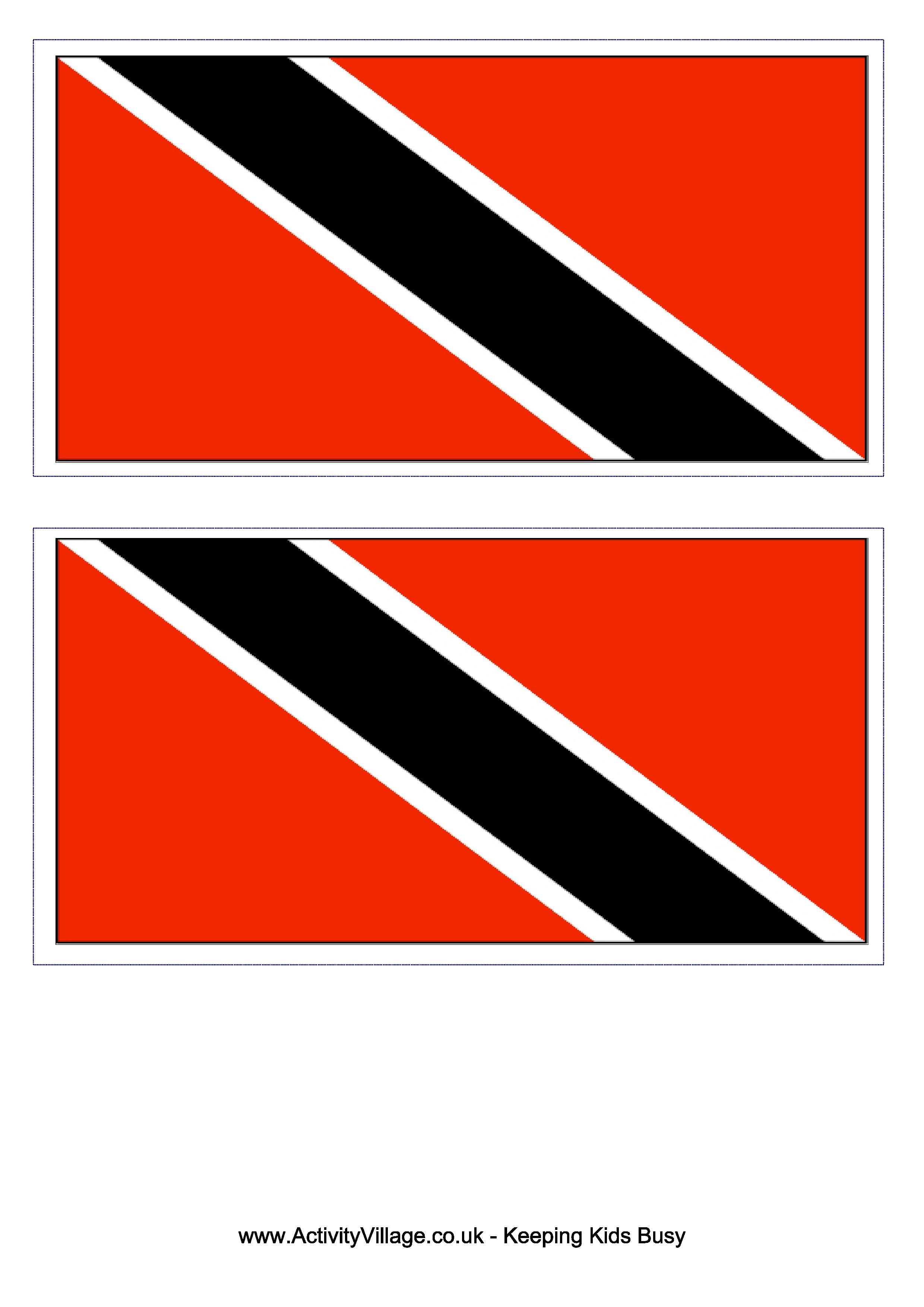 Trinidad And Tobago Flag  Free Printable Trinidad And Tobago Flag