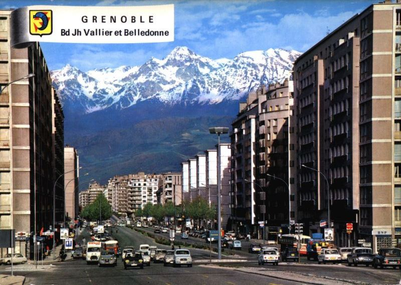 Grenoble vallier late 60 39 s france frankreich pinterest for Piscine vallier