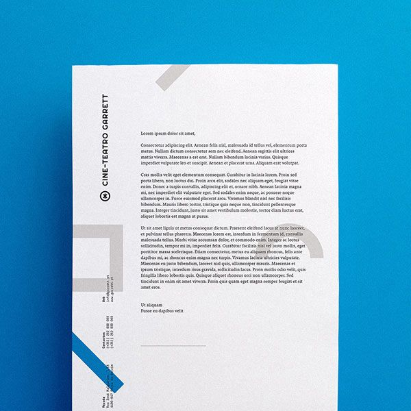 Letter design and corporate identity proposal created by Another - product proposal letter