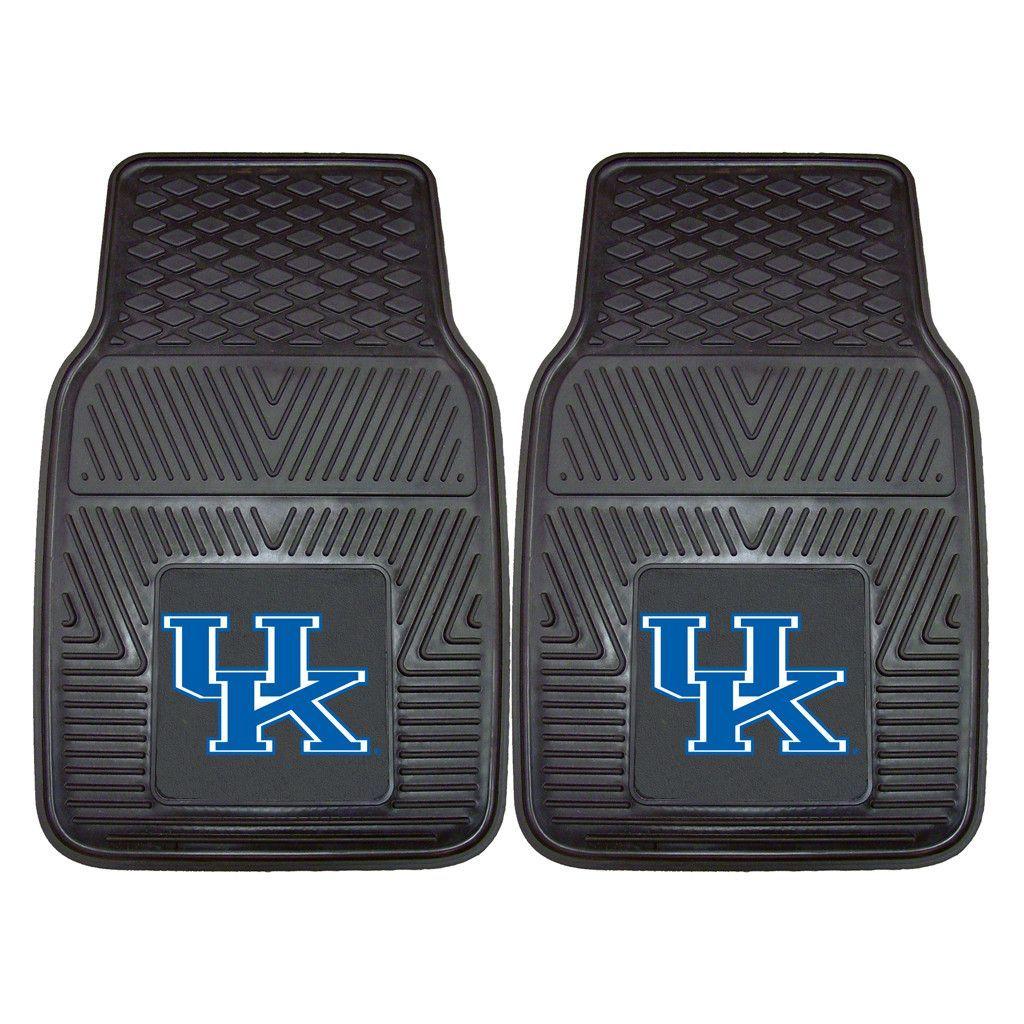 Heavy Duty Vinyl Kentucky Wildcats Floor Mat Set Car