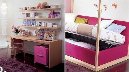 Prácticos y Sencillos Muebles para Dormitorios de Niños y Jóvenes ...