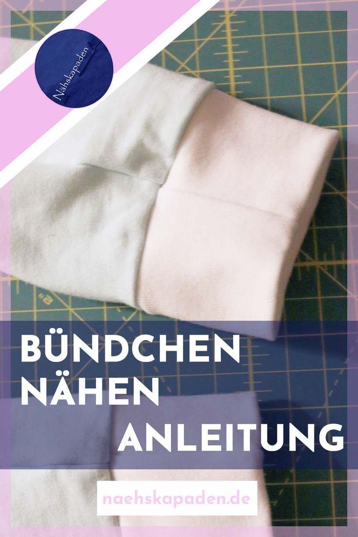Photo of Bündchen nähen – Nähskapaden