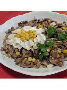Салат с печенью диетический рецепты
