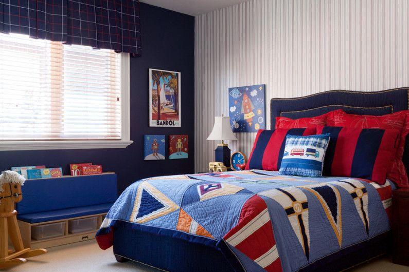 Dark Blue Boy Bedroom Ideas 2 Interesting Decorating Ideas