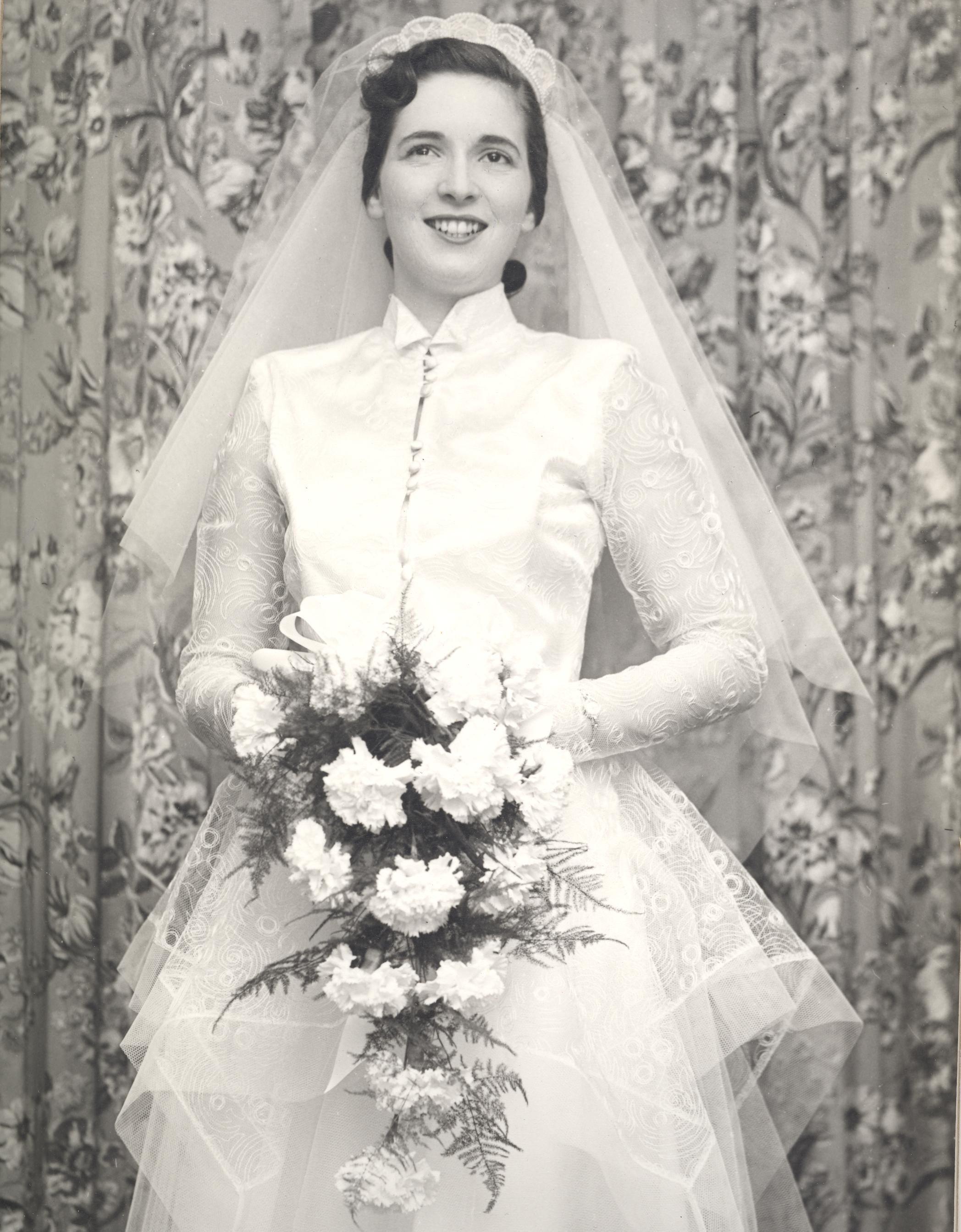 1953 Marcia wedding