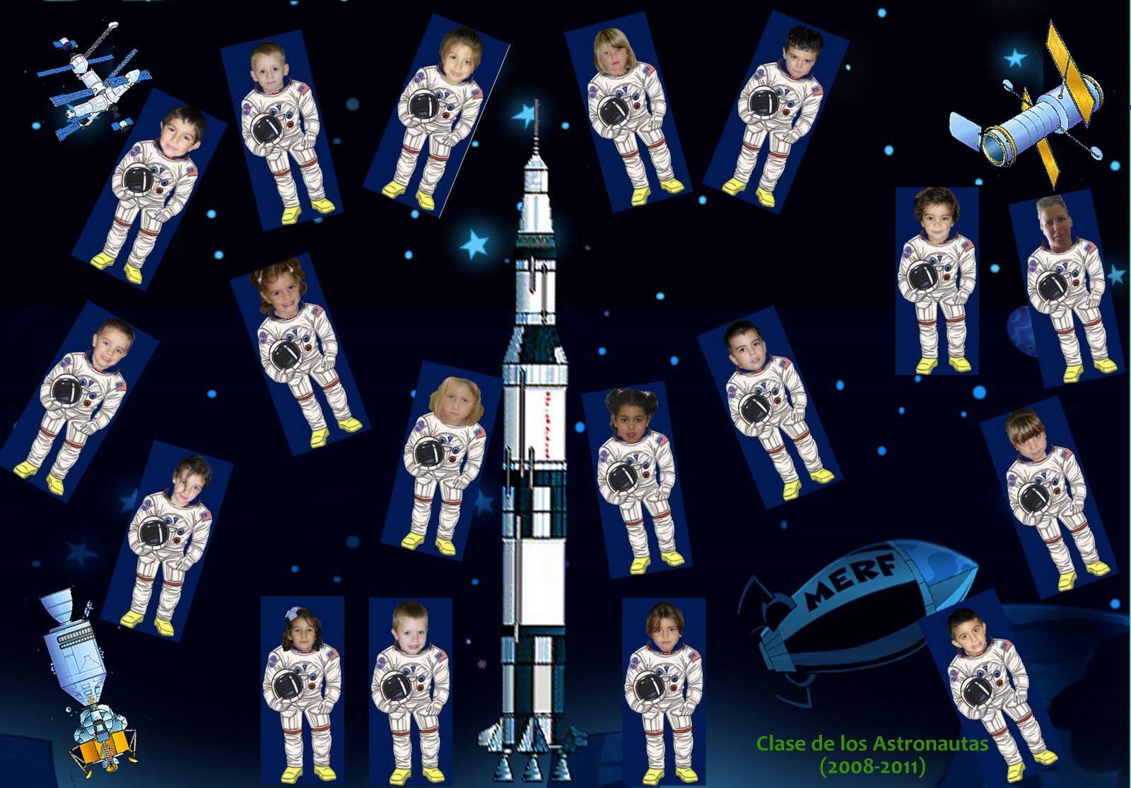 Niño Astronauta En El Espacio: Manualidades Astronautas Para Niños