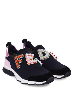 3a73d3505832 FENDI Fun Fair Logo Sneakers.  fendi  shoes