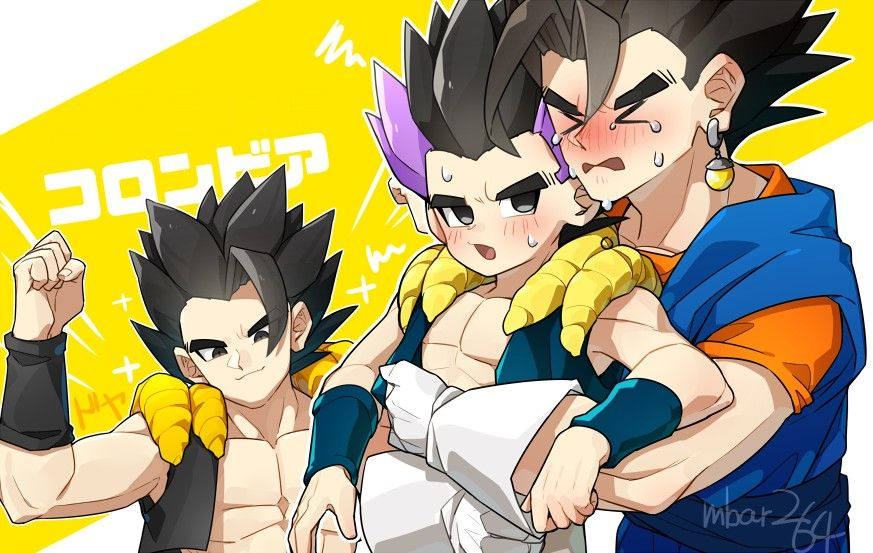 Fusion Anime Dad Dragon Ball Art Dragon Ball Super