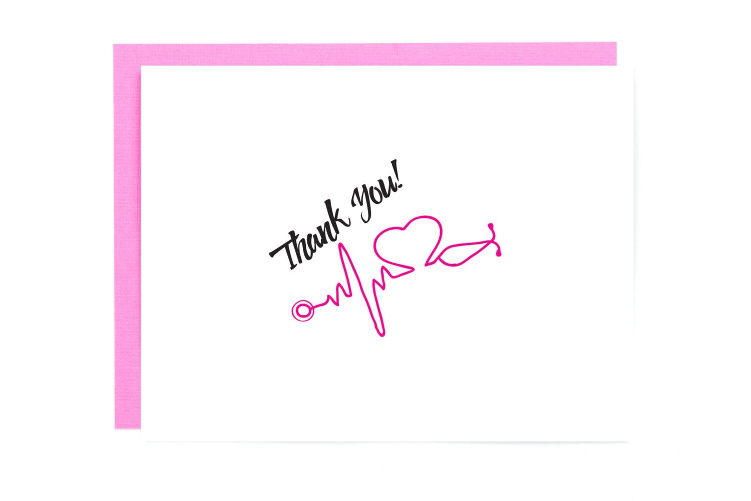Nurse Card Nurse Graduation Gift Nurse Medical Thank You Card
