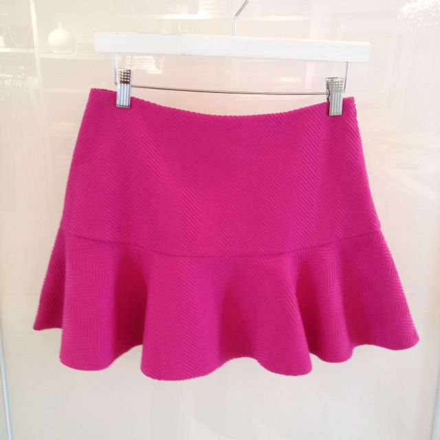 Kristina Richards pink flounce mini!!  Available in our East Greenwich location!!  Made in the USA!!!