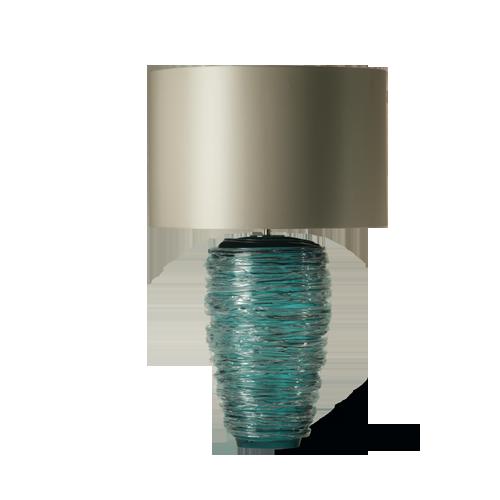 Porta Romana - GLB32, Thread Lamp - Turquoise