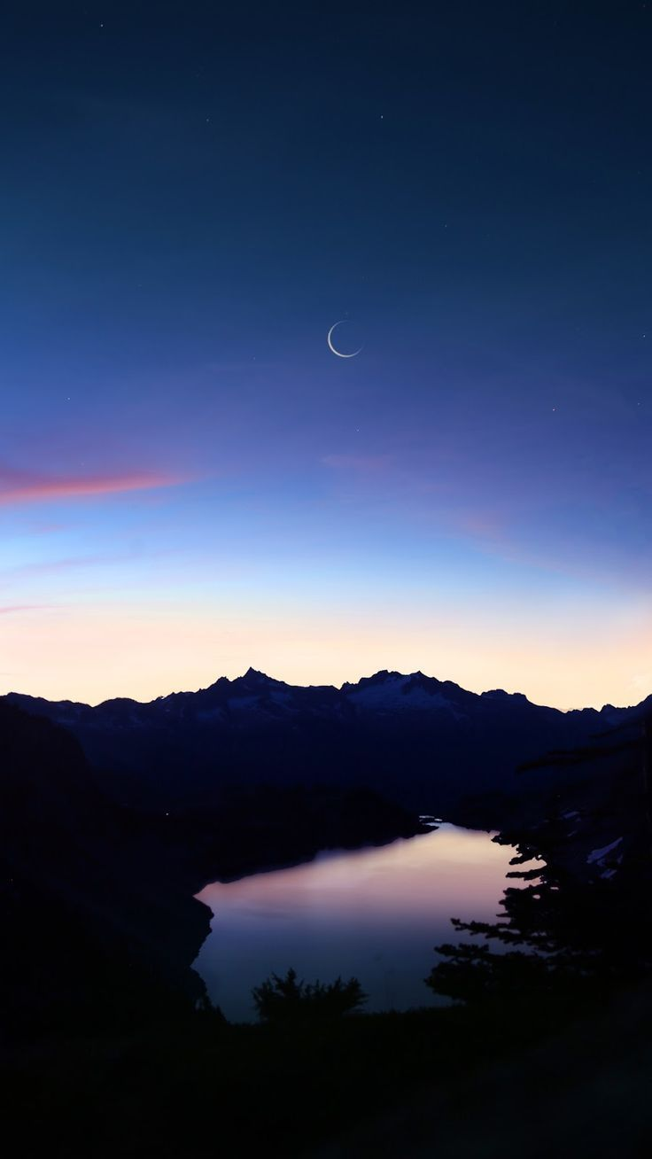 Ruhige Nacht – Beautiful Wallpaper