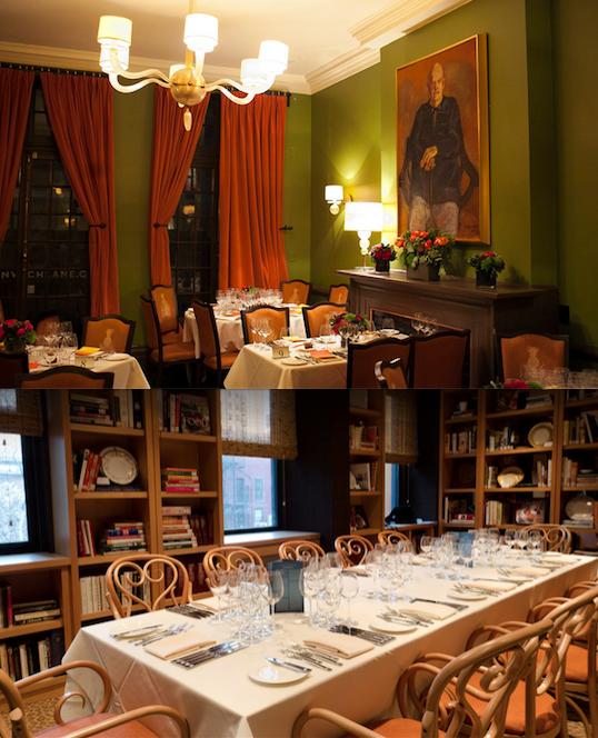 James Beard House Dining Room Seats 16 West Village Fine Dining