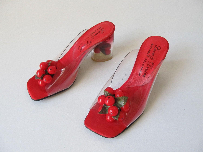 Vintage Lucite Shoes Beverly Feldman Fruit Shoes Lucite Etsy Vintage Shoes Vintage Lucite Shoe Gallery