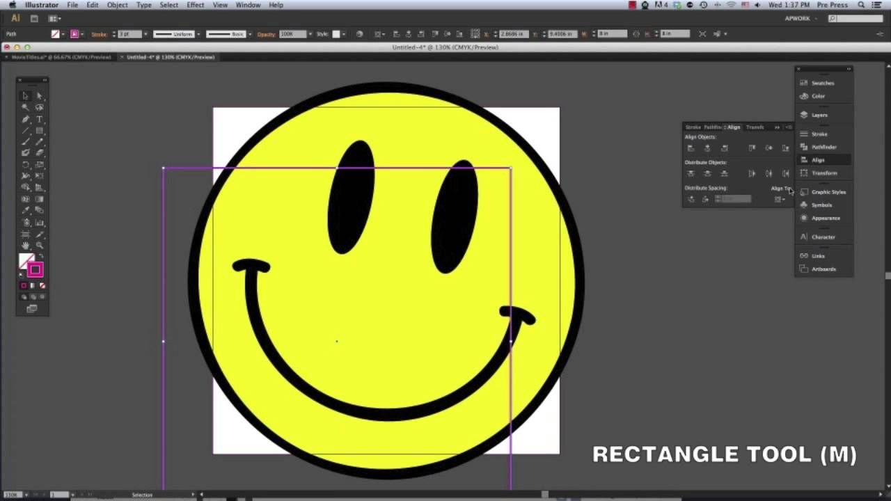 How to Crop in Adobe Illustrator CS6