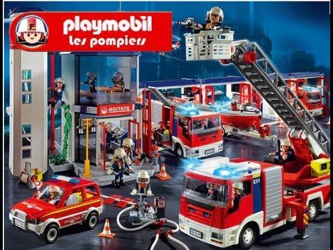 playmobil pompier fire rescue feuerwehr bomberos - Playmobil Pompier