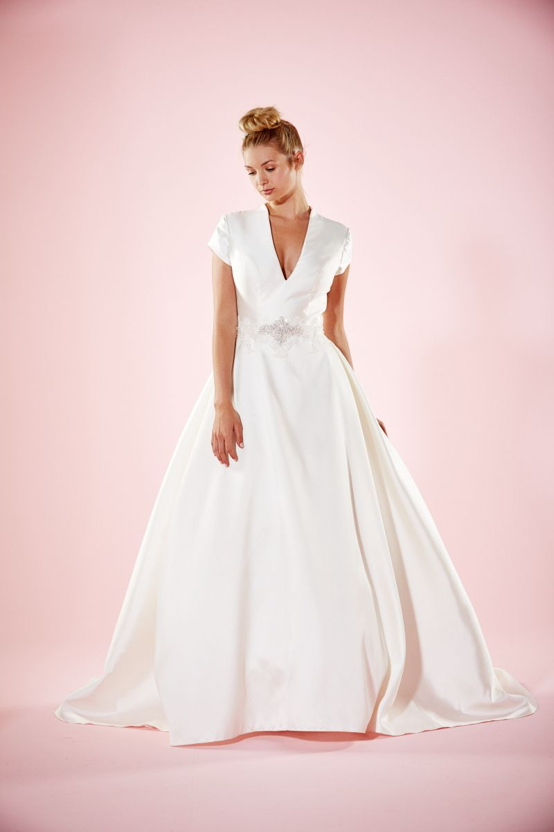 Royal wedding dress  Introducing the Charlotte Balbier Willa Rose Collection  Charlotte