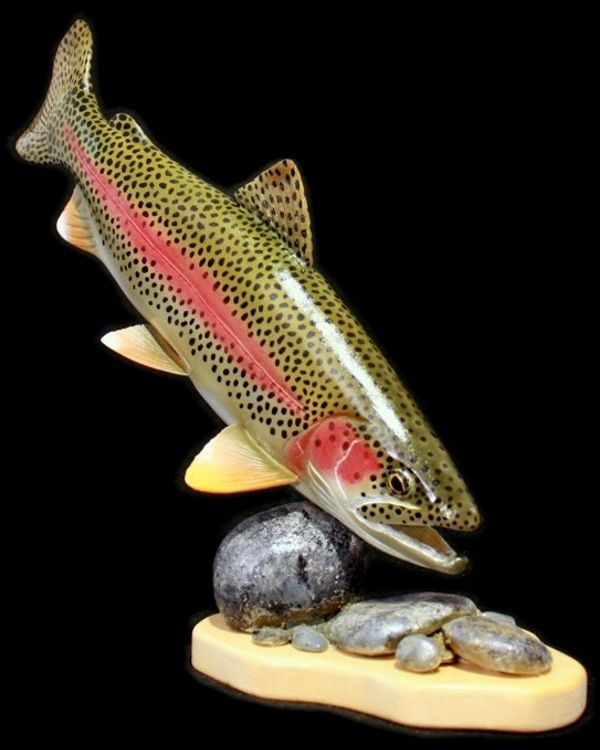 Wood carvings google search fly fishing pinterest