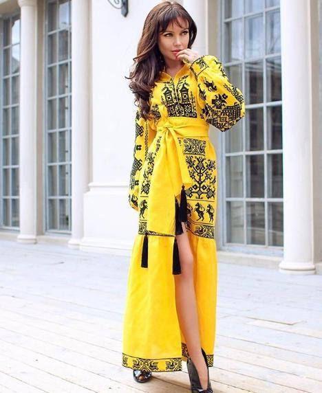 57f22f0882b01 Vyshyvanka ukrainian wedding dress long sleeve Sexy embroidered caftan  mariage Abaya open slit linen