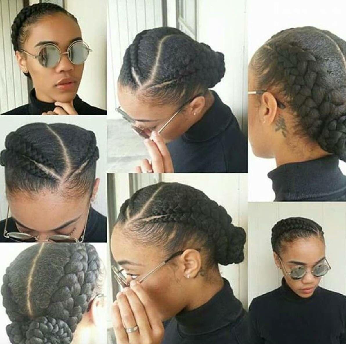Double Braid Hair Styles Natural Hair Styles Hair
