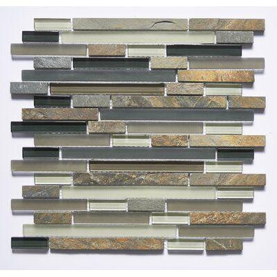 Abolos Premium 0 63 Quot X 4 Quot Glass Amp Natural Stone Mosaic