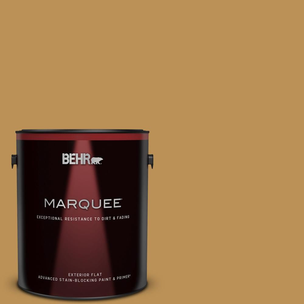 BEHR MARQUEE 1 gal. #MQ4-07 Radiance Flat Exterior Paint and Primer in One-445301 - The Home Depot
