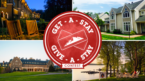 Pocono Mountains Visitors Bureau Get-A-Stay Give-A-Stay