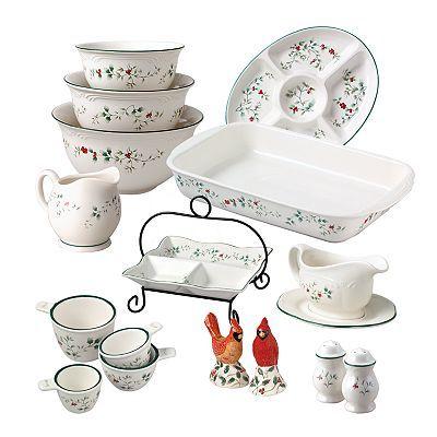 Kohls Christmas Dishes.Pfaltzgraff Winterberry Serveware And Accessories Kohl S