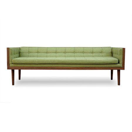 Pleasing Kardiel Woodrow Mid Century Modern Box Sofa Walmart Com Cjindustries Chair Design For Home Cjindustriesco